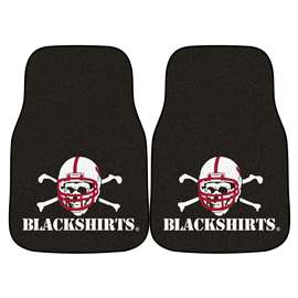 University of Nebraska  2-pc Carpet Car Mat Set