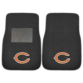 NFL - Chicago Bears 2-pc Embroidered Car Mat Set Front Car Mats