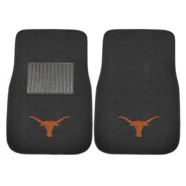 University of Texas 2-pc Embroidered Car Mat Set Front Car Mats