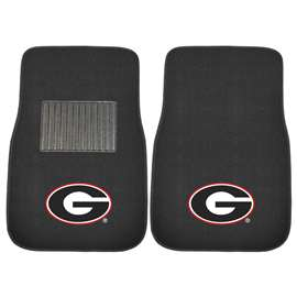 University of Georgia  2-pc Embroidered Car Mat Set