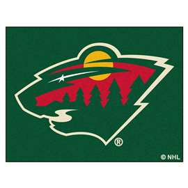 NHL - Minnesota Wild All-Star Mat Rectangular Mats