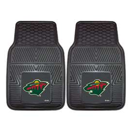 NHL - Minnesota Wild 2-pc Vinyl Car Mat Set Front Car Mats