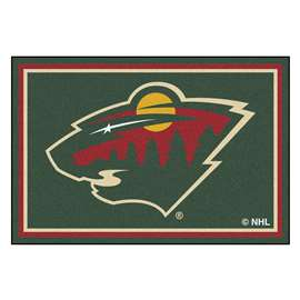 NHL - Minnesota Wild 5x8 Rug Plush Rugs