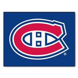 NHL - Montreal Canadiens Rug Carpet Mats 33.75 X 42.5 Inches