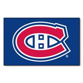 "NHL - Montreal Canadiens Rug, Carpet, Mats 59.5""x94.5"""