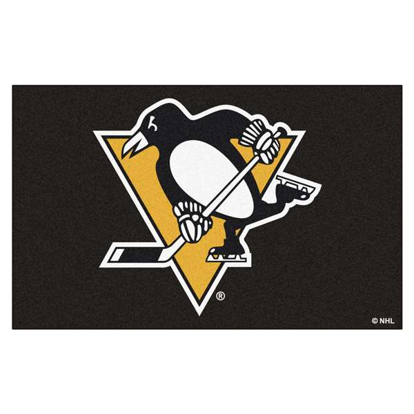 "NHL - Pittsburgh Penguins Rug, Carpet, Mats 59.5""x94.5"""