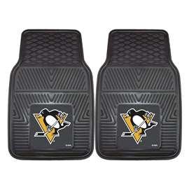 NHL - Pittsburgh Penguins 2-pc Vinyl Car Mat Set Front Car Mats