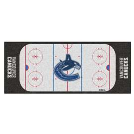 "NHL - Vancouver Canucks Mat, Rug , Carpet 30""x72"""