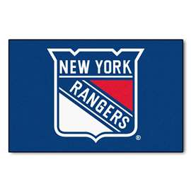 "NHL - New York Rangers Mat, Rug , Carpet 19""x30"""