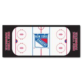 "NHL - New York Rangers Mat, Rug , Carpet 30""x72"""
