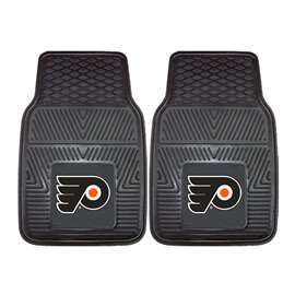 NHL - Philadelphia Flyers 2-pc Vinyl Car Mat Set Front Car Mats