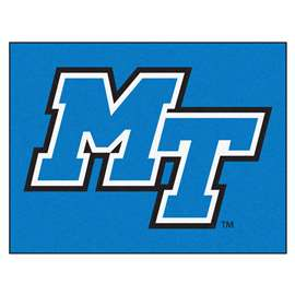 Middle Tennessee State University   All Star Mat Rug Carpet Mats