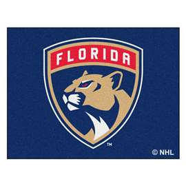 NHL - Florida Panthers Rug Carpet Mats 33.75 X 42.5 Inches
