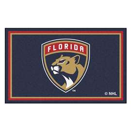 NHL - Florida Panthers Rug Carpet Mats 44 X 71 Inches