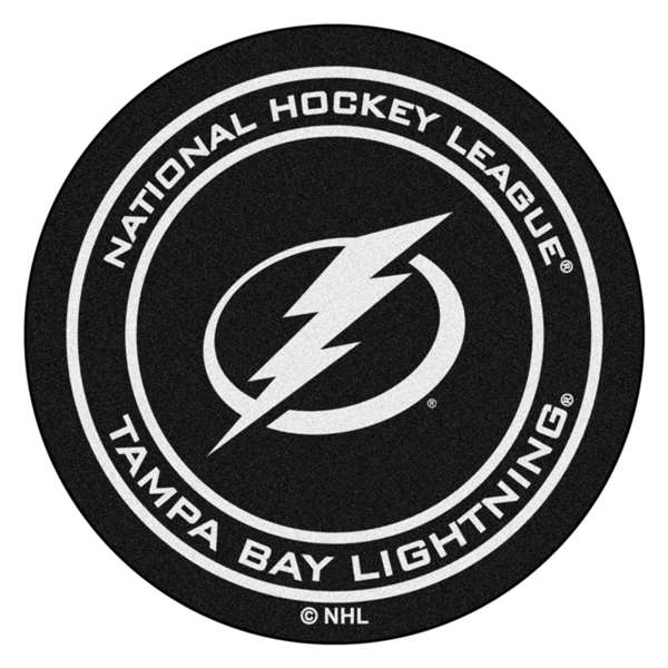 "NHL - Tampa Bay Lightning Mat, Carpet, Rug 27"" diameter"