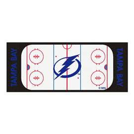 "NHL - Tampa Bay Lightning Mat, Rug , Carpet 30""x72"""