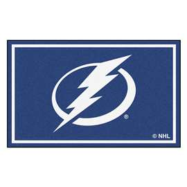NHL - Tampa Bay Lightning Rug Carpet Mats 44 X 71 Inches