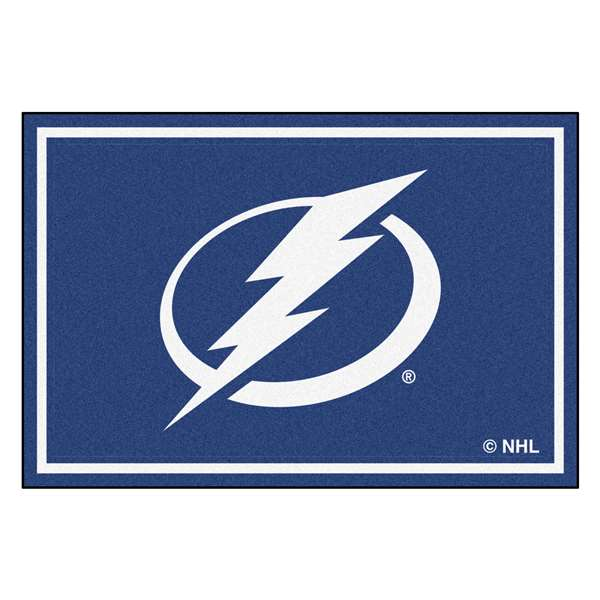 NHL - Tampa Bay Lightning Rug Carpet Mats 59.5 X 88 Inches