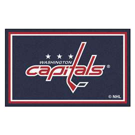 NHL - Washington Capitals Rug Carpet Mats 44 X 71 Inches