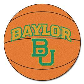 Baylor University Basketball Mat BU Logo