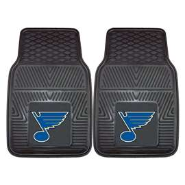 NHL - St. Louis Blues 2-pc Vinyl Car Mat Set Front Car Mats