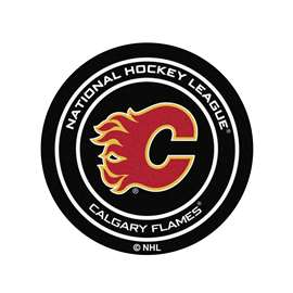 "NHL - Calgary Flames Mat, Carpet, Rug 27"" diameter"