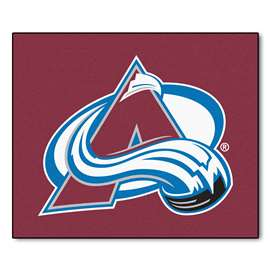 "NHL - Colorado Avalanche Rug, Carpet, Mats 59.5""x71"""