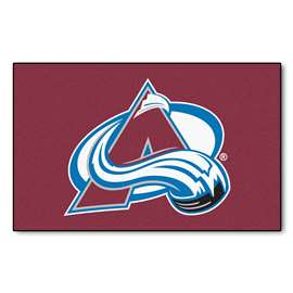 "NHL - Colorado Avalanche Rug, Carpet, Mats 59.5""x94.5"""
