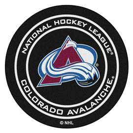 NHL - Colorado Avalanche Puck Mat Ball Mats