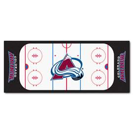 NHL - Colorado Avalanche Rink Runner Runner Mats
