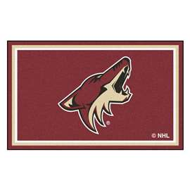 NHL - Arizona Coyotes 4x6 Rug Plush Rugs