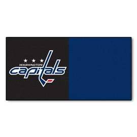 "NHL - Washington Capitals Rug, Carpet, Mats 18""x18"" tiles"