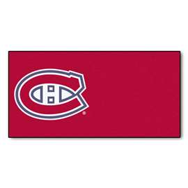 "NHL - Montreal Canadiens Rug, Carpet, Mats 18""x18"" tiles"