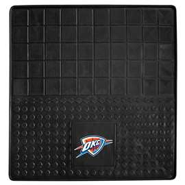 NBA - Oklahoma City Thunder Heavy Duty Vinyl Cargo Mat Trunk Mats