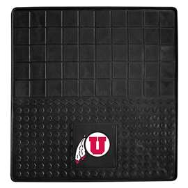 University of Utah Heavy Duty Vinyl Cargo Mat Trunk Mats