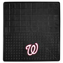 "MLB - Washington Nationals Vinyl Cargo Mat 31""x31""  Heavy Duty Vinyl Cargo Mat"
