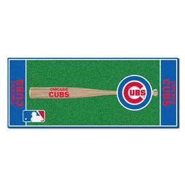 "MLB - Chicago Cubs Baseball Runner 30""x72""  Baseball Runner"