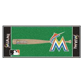 MLB - Miami Marlins Baseball Runner Runner Mats