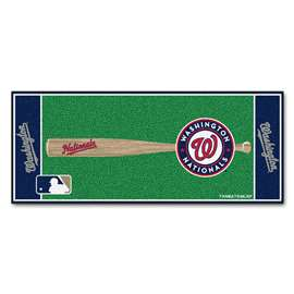 "MLB - Washington Nationals Baseball Runner 30""x72""  Baseball Runner"