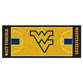 West Virginia University  NCAA Basketball Runner Mat, Carpet, Rug