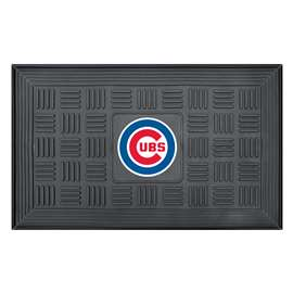 "MLB - Chicago Cubs Door Mat 19.5""x31.25""  Medallion Door Mat"