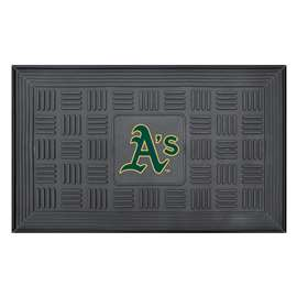 "MLB - Oakland Athletics Door Mat 19.5""x31.25""  Medallion Door Mat"