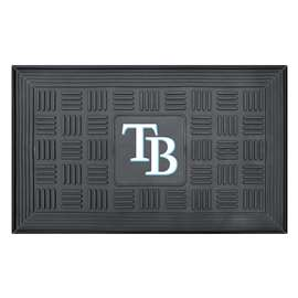 "MLB - Tampa Bay Rays Door Mat 19.5""x31.25""  Medallion Door Mat"