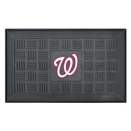 "MLB - Washington Nationals Door Mat 19.5""x31.25""  Medallion Door Mat"