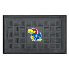 University of Kansas Medallion Door Mat Door Mats