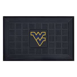 West Virginia University  Medallion Door Mat