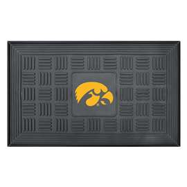 University of Iowa Medallion Door Mat Door Mats