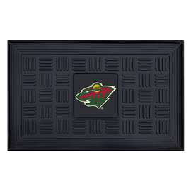 NHL - Minnesota Wild Medallion Door Mat Door Mats