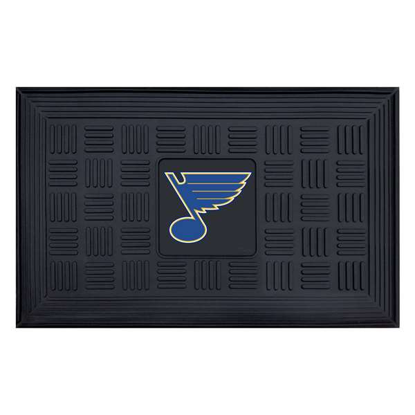 NHL - St. Louis Blues Medallion Door Mat Door Mats