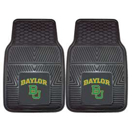 Baylor University 2-pc Vinyl Car Mat Set BU Logo